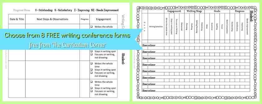 Writing Workshop Management Binder