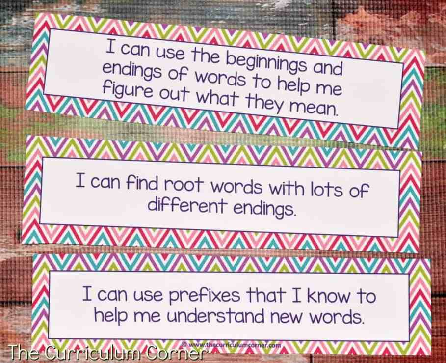 FREE Root Words, Prefix Practice, Suffix Practice Instructional & Practice Materials from The Curriculum Corner 5