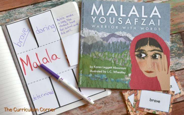 Book Study: Malala Yousafzai FREE from The Curriculum Corner