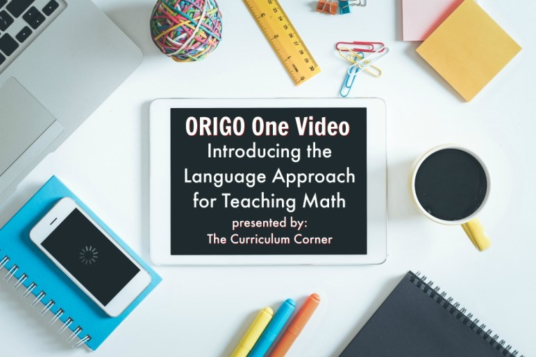 ORIGO One Introducing the Language Approach for Teaching Math 1 Minute Video - Language in Math