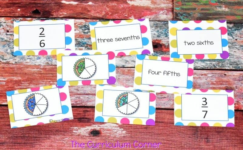 Understanding Fractions FREE from The Curriculum Corner | practice pages, assessments,exit tickets, instructional powerpoint 4