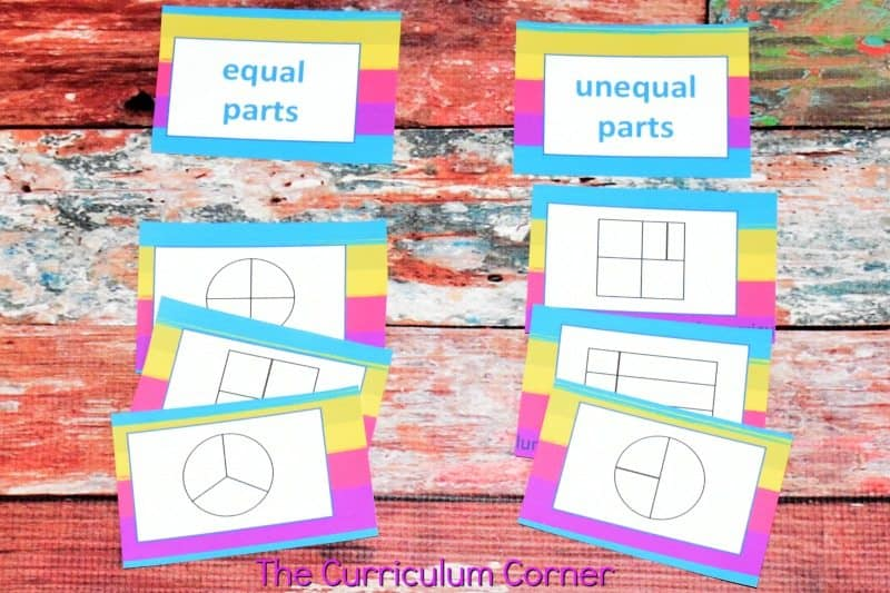 Understanding Fractions FREE from The Curriculum Corner | practice pages, assessments,exit tickets, instructional powerpoint 5
