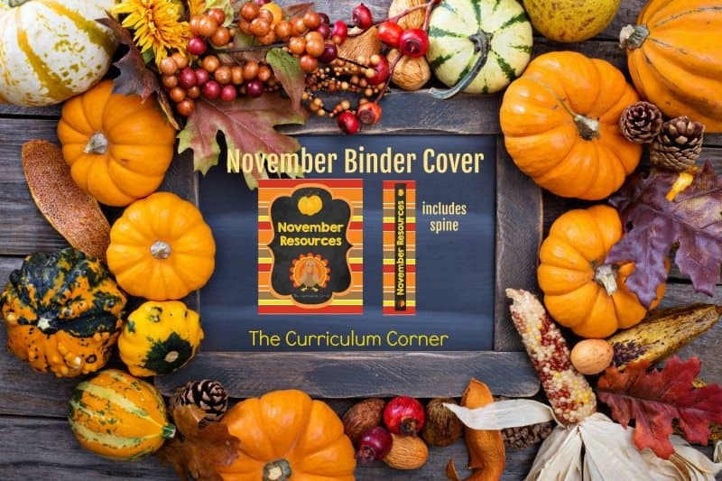 ource Collection & Binder Cover all FREE from The Curriculum Corner