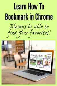 Bookmarking in Chrome Tutorial by The Curriculum Corner