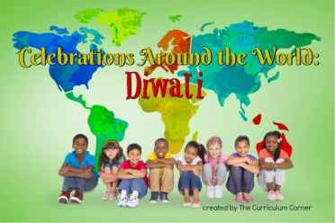 FREE Celebrations Around the World: Diwali booklet from The Curriculum Corner