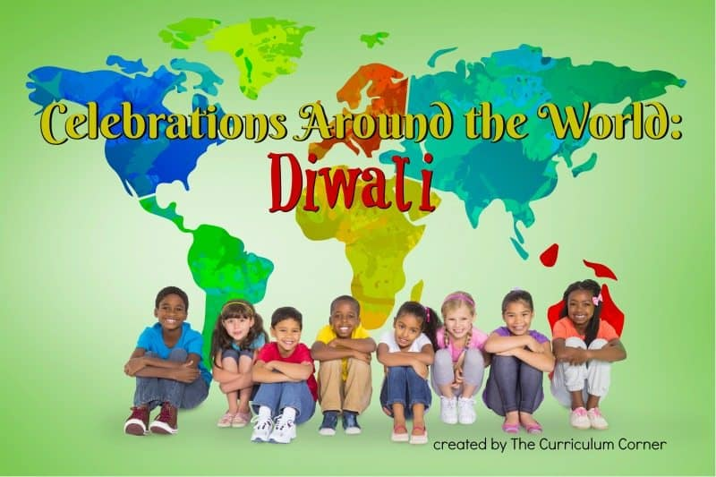 This Diwali booklet is designed to help you in a December celebration of holidays around the world. FREE from The Curriculum Corner