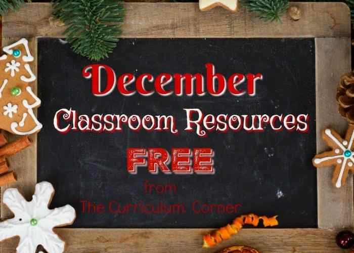 Free December Resources for Your Classroom