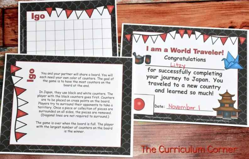 Explore Your World: Japan Unit of Study by The Curriculum Corner & VariQuest