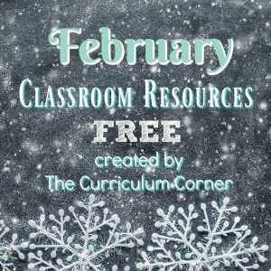 FREE February Resources for Teachers from The Curriculum Connection