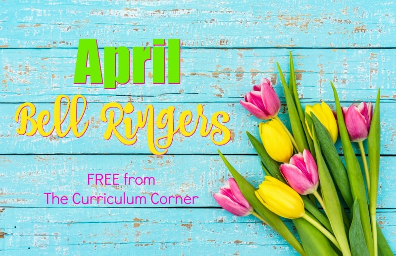 This collection of April Bell Ringer Questions has been created to help engage your students in a simple, but meaningful morning routine.