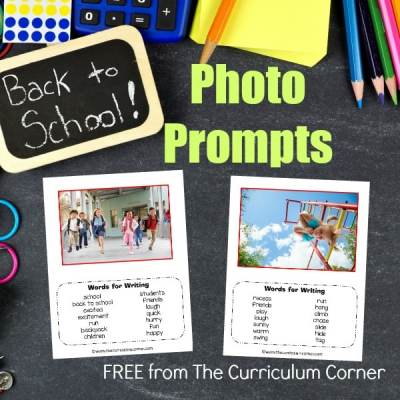 Back to School Photo Prompts