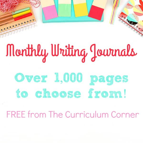 We have created a free collection of monthly journals for your classroom use during morning welcome or other points in your day. 2