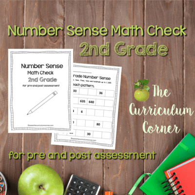 Math Check: 2nd Grade Number Sense