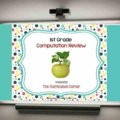 Review Game: 1st Grade Computation
