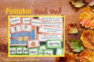 This pumpkin word work set is the perfect set of pumpkin patch word work for your fall!