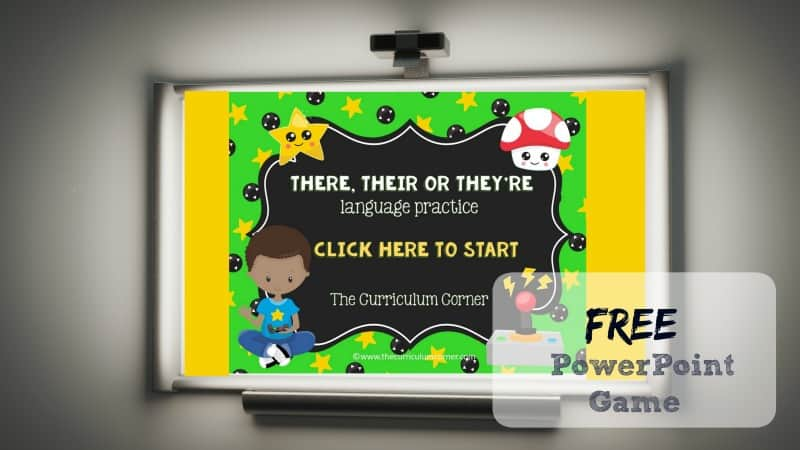 This There, Their, They're PowerPoint game is designed to give your students practice with choosing the correct word in sentences.