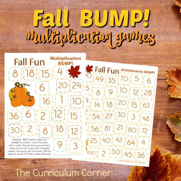 Fall Multiplication Bump Games