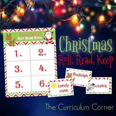Christmas Roll, Read, Keep