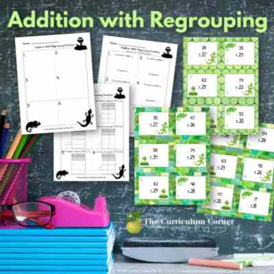 Addition with Regrouping: Differentiated Practice