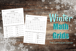 These winter math grids have been created as an engaging, free printable math activity for your classroom (coordinate grids.)