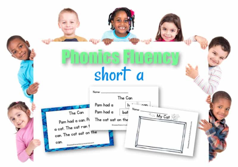 This free set of short a fluency passages can be used for your students focusing on vowel sounds during reading instruction.