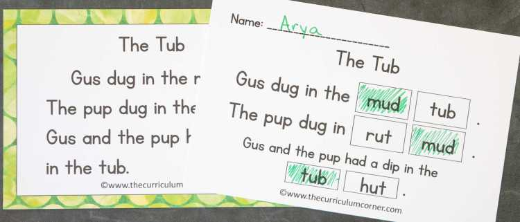 This free set of short u fluency passages can be used for your students focusing on vowel sounds during reading instruction. 3