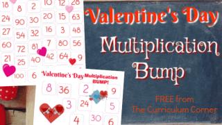 Valentine's Day Multiplication BUMP!