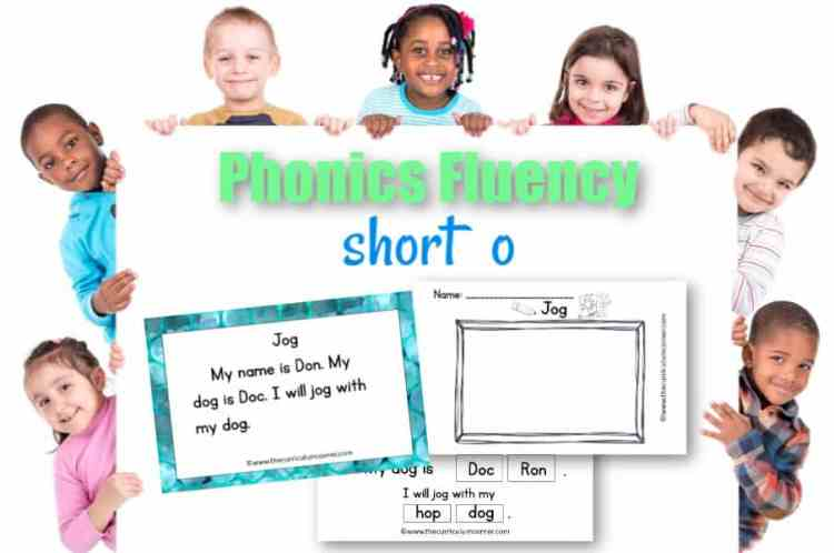 This free set of short o fluency passages can be used for your students focusing on vowel sounds during reading instruction.