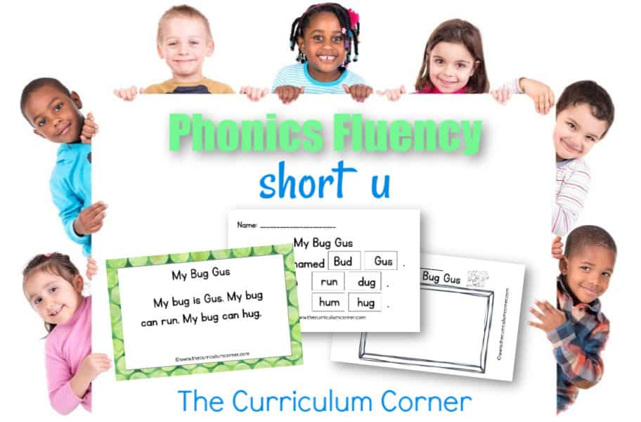 This free set of short u fluency passages can be used for your students focusing on vowel sounds during reading instruction.