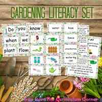 Gardening Literacy Set