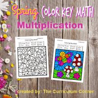 Spring Color Key Multiplication