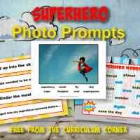 Superhero Photo Prompts