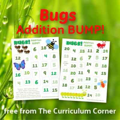 Bugs Addition BUMP Games