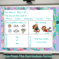 Kindergarten May Daily Welcome Messages