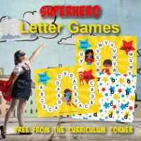Superhero ABC Game