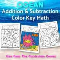 Ocean Addition Color Key