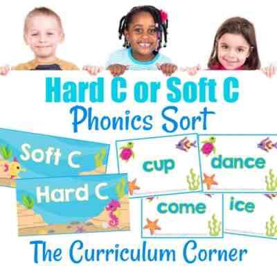 Phonics Sort: Hard C & Soft C