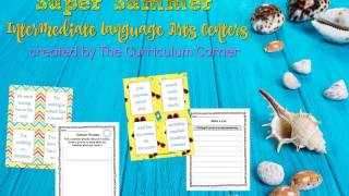 Summer Language Arts Centers