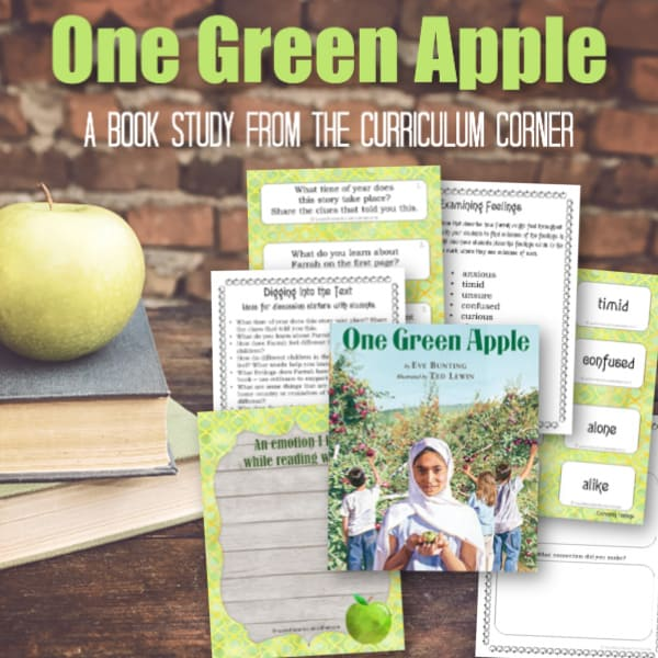 Book Study: One Green Apple