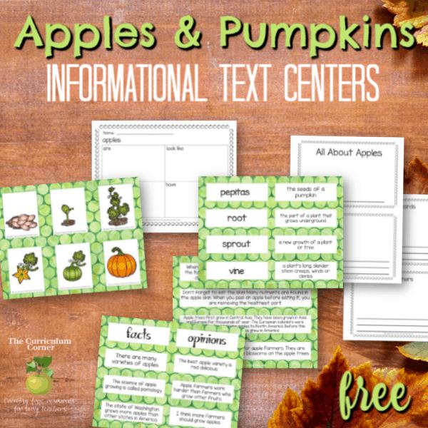 Apples & Pumpkins Informational Text