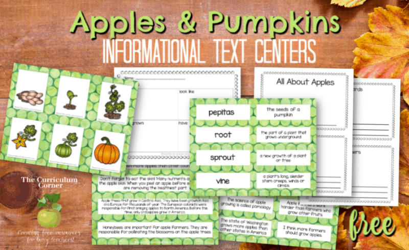 apples and pumpkins informational text