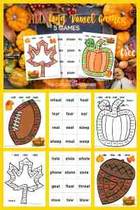 Fall Long Vowel Games