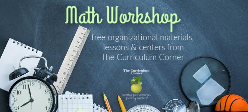 Free resources for math workshop