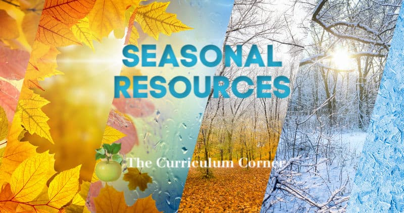 Seasonal Resources for your Classroom