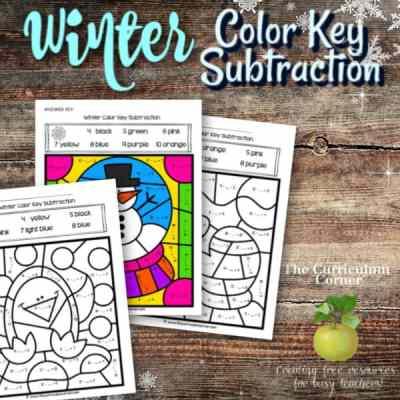 Winter Color Key Subtraction