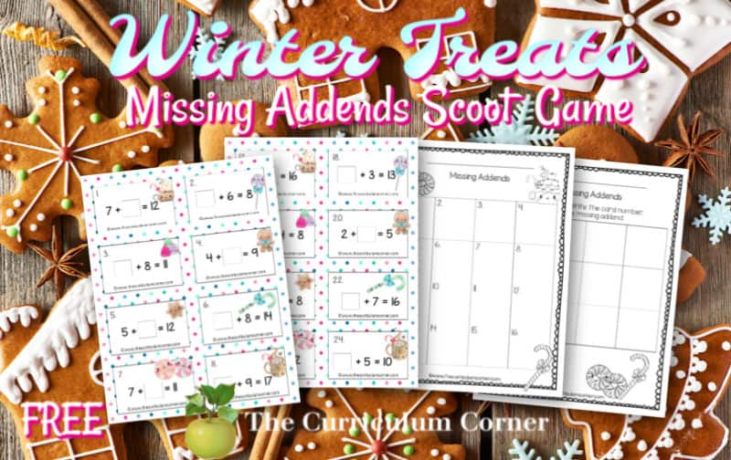 winter missing addends