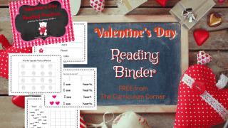 Valentine's Day Reading Binder