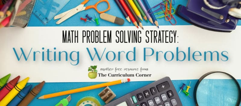 writing word problems