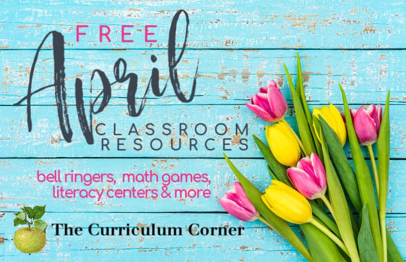Free April Resources