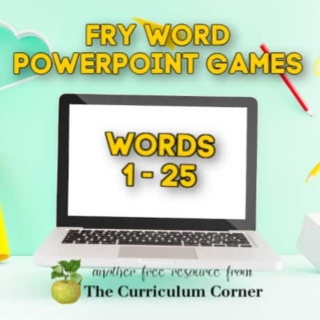 Fry PowerPoint Games